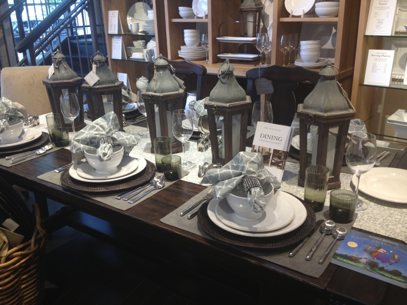 Pottery Barn- perfect tablescape