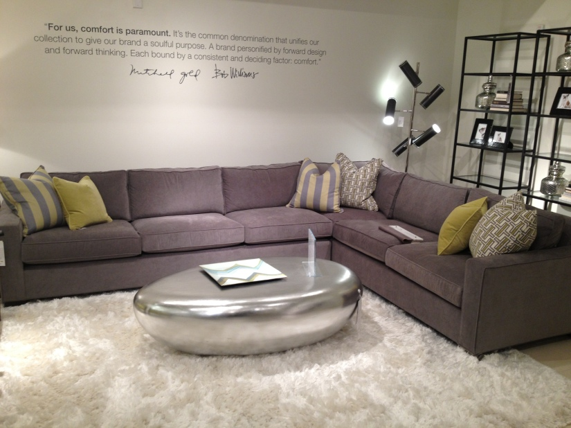Great sectional- room for everyone!