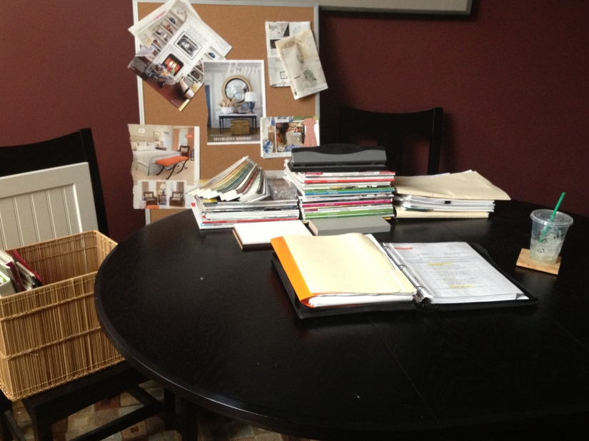 Buidling the Bennett's - Workspace