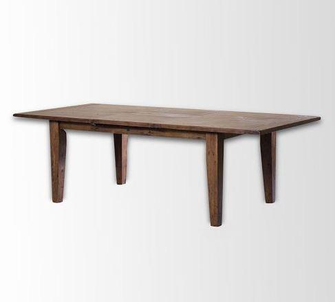 West Elm- Pine Expandable Dining Table - Dusk Finish