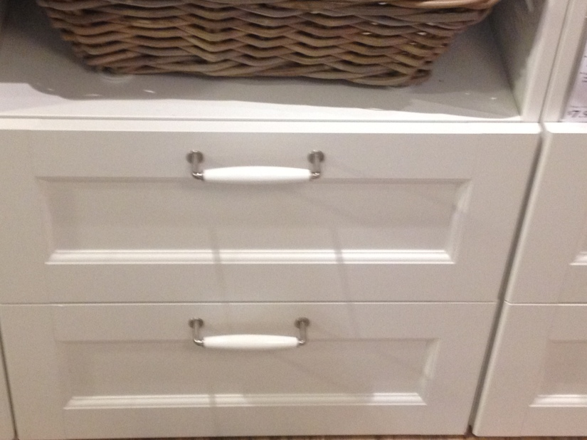 Handle option for the master bath