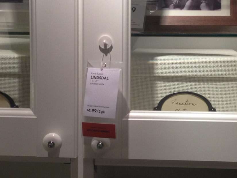 Knob option for the Master Bath