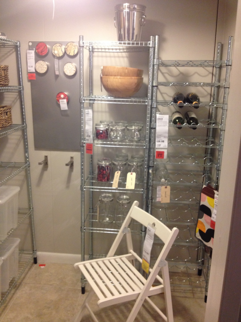 Storage solution for the basement