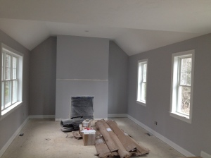 Great Room- Benjamin Moore Metro Grey